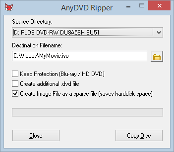 Anydvd 16 Rip Image